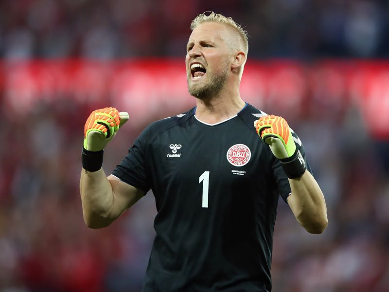 Kasper Schmeichel is stepping out of his father's shadow (Photo by Alex Grimm/Getty Images)