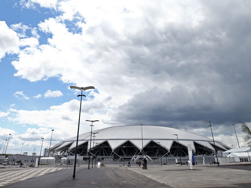 Denmark vs Australia will take place at the Samara Arena (Photo by Maddie Meyer/Getty Images)