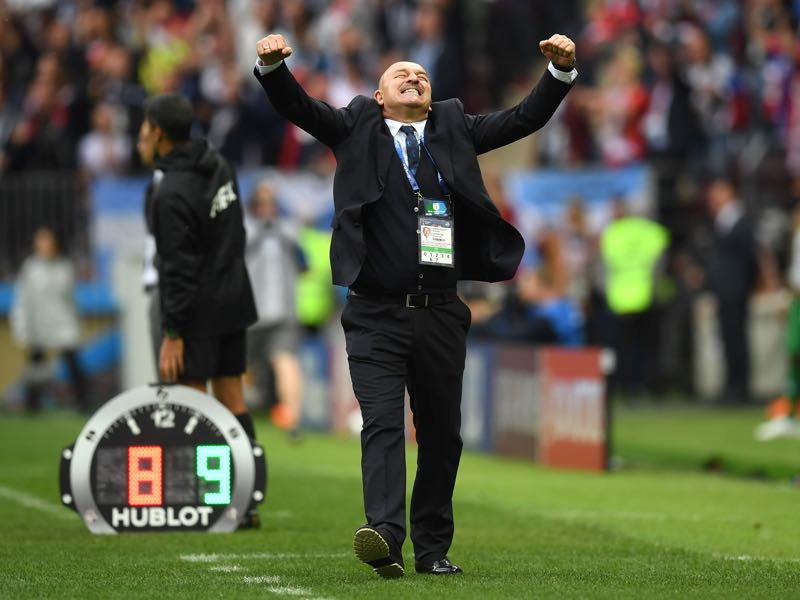 What will the future bring for Stanislav Cherchesov? (Photo by Matthias Hangst/Getty Images)