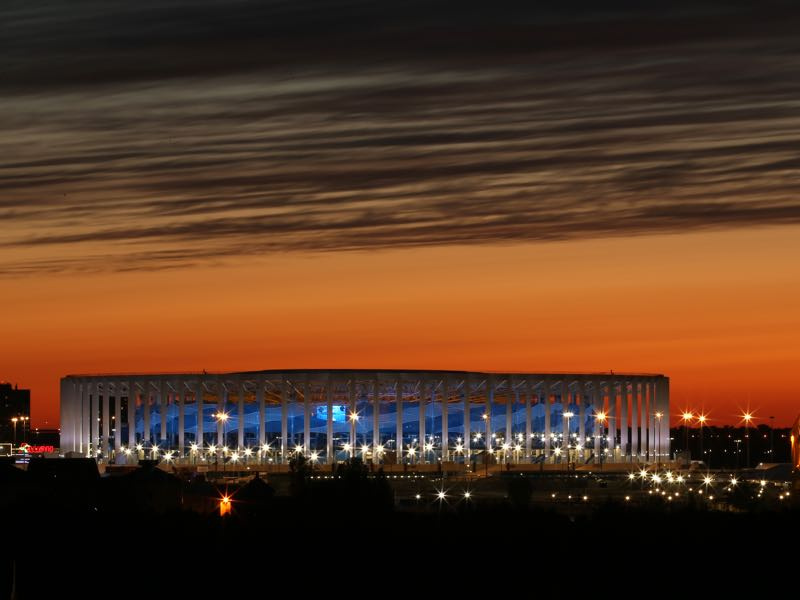 Croatia vs Denmark will take place at the Nizhny Novgorod Stadium (Photo by Jan Kruger/Getty Images)