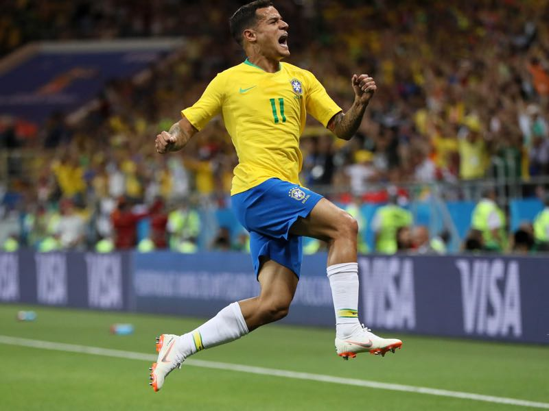 Philippe Coutinho will be Brazil's key player (Photo by Kevin C. Cox/Getty Images)