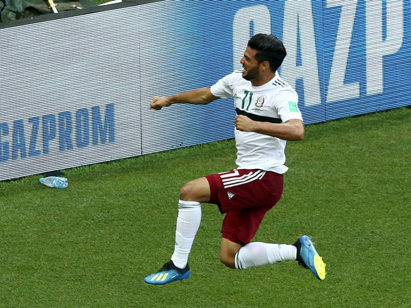 Carlos Vela was excellent against South Korea (Photo by Jan Kruger/Getty Images)