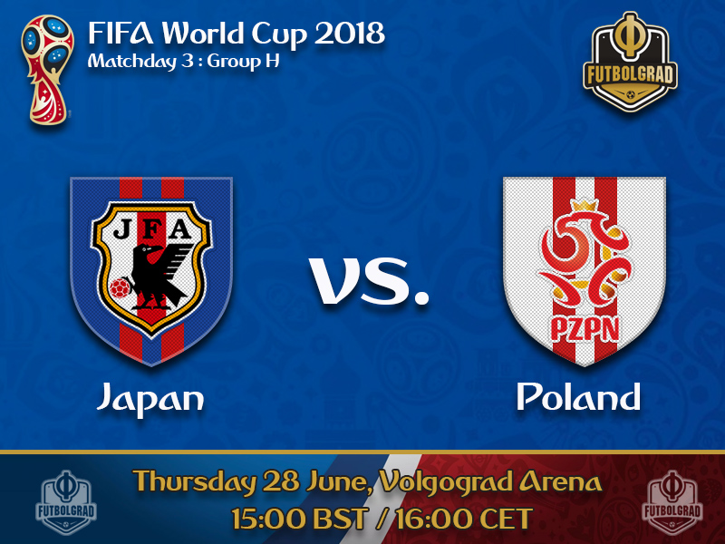 Japan will look to win Group H by beating Poland on matchday 3