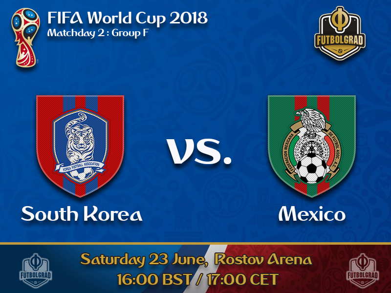 ff54fdce6 Mexico look to make decisive step to the next round against South Korea