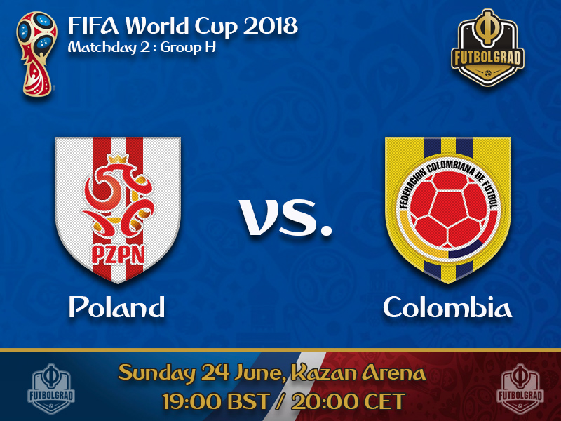 Poland and Colombia try to gain a foothold at the tournament