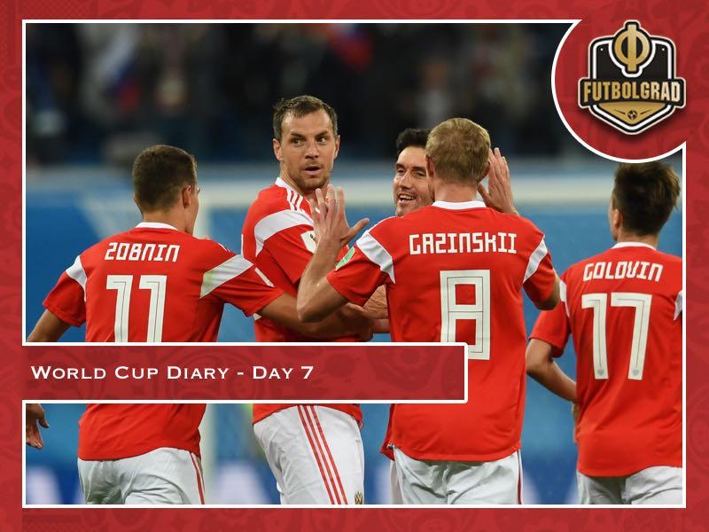 World Cup Diary – Day 7: Sbornaya shock Egypt