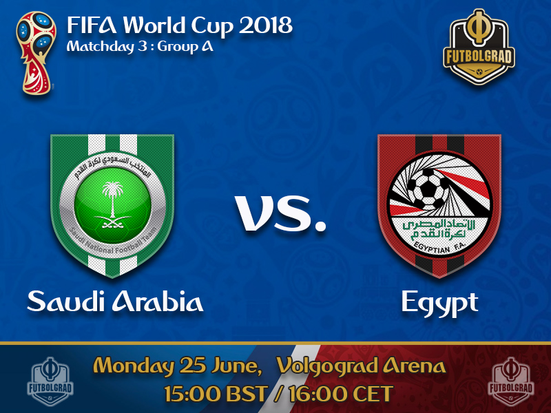 Saudi Arabia and Egypt have only pride left to play for