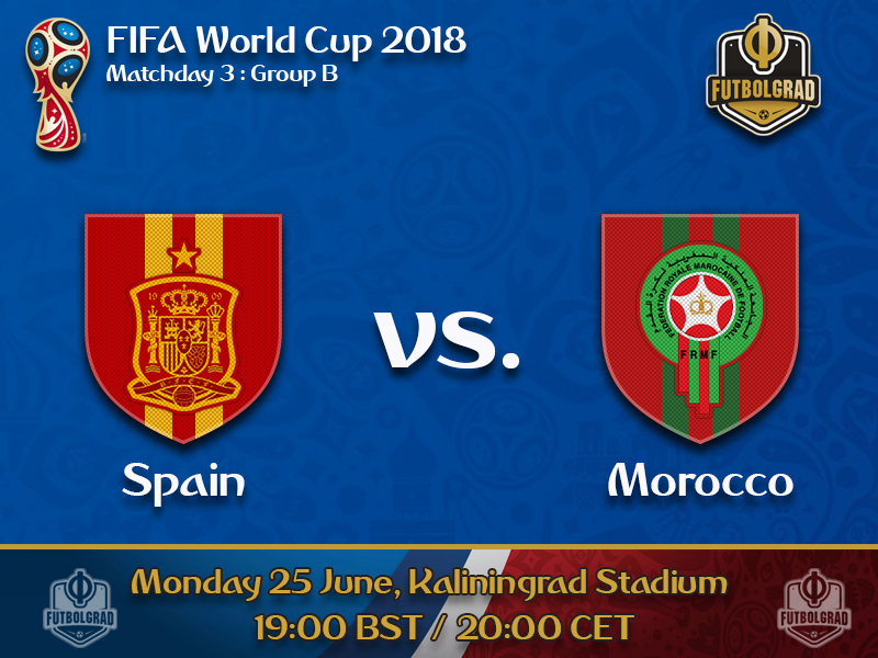 Morocco provide final obstacle for Spain in Group B