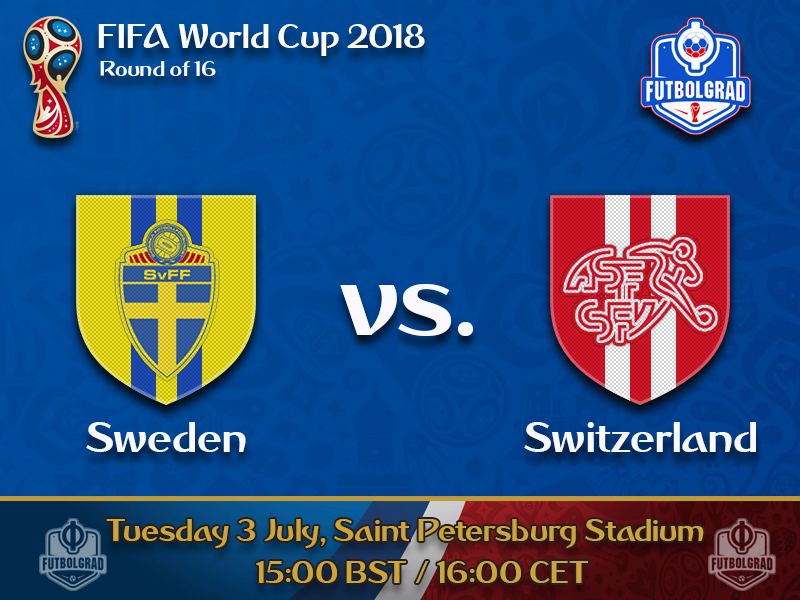 Sweden and Switzerland battle for a place in the quarterfinals