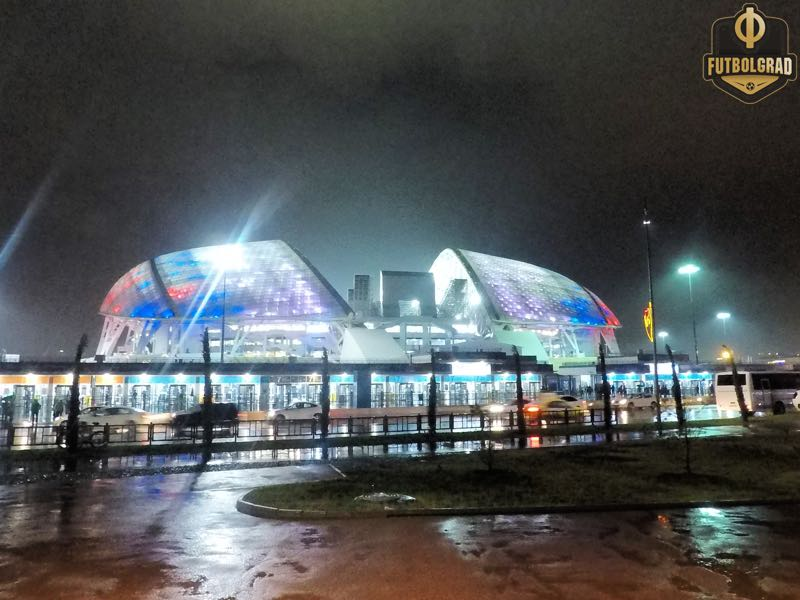 Russia vs Croatia will take place at the Fisht Stadium in Sochi (Manuel Veth/Futbolgrad Network)