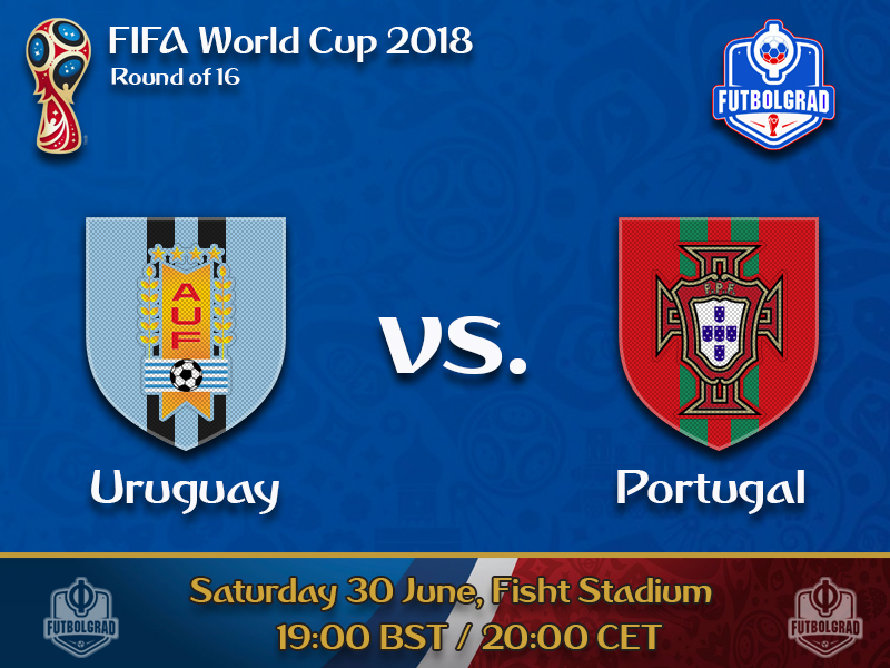 Uruguay and Portugal battle for a spot in the quarterfinals