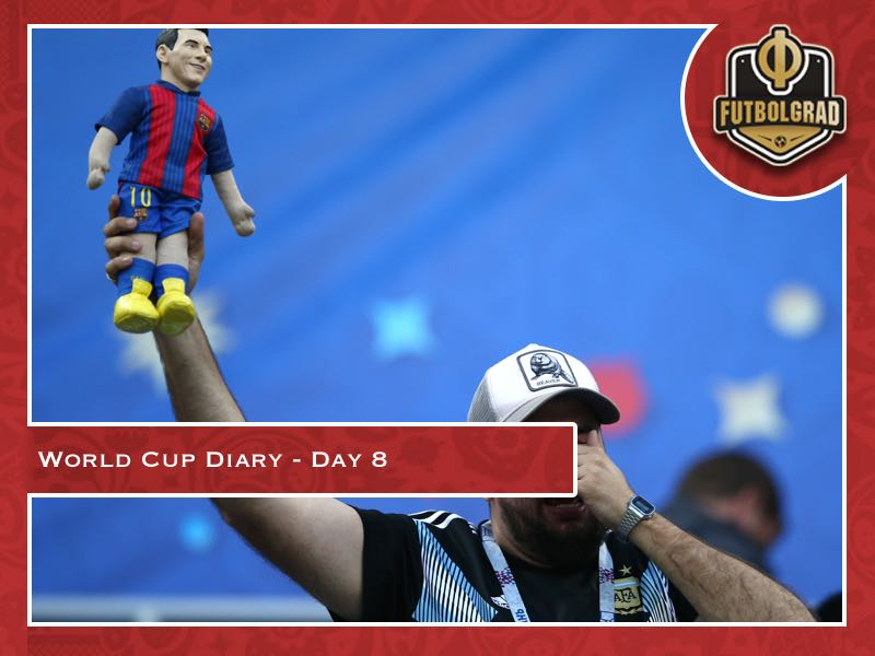 World Cup Diary – Day 8: Croatia shock Argentina