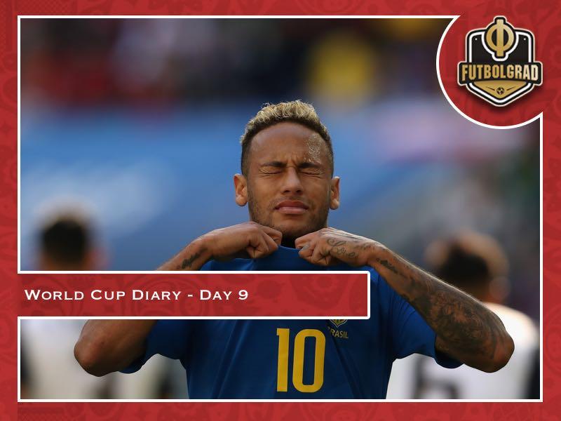 World Cup Diary – Day 9: Neymar's tears
