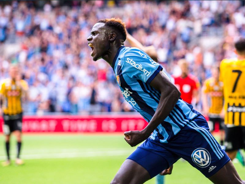 Aliou Badji is Djurgarden's player to watch (DIF_Futbol)