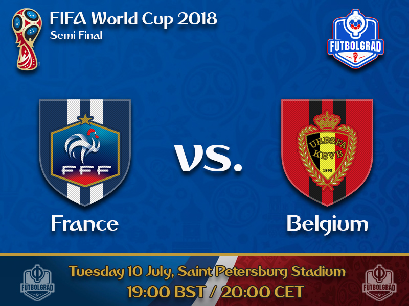 France and Belgium battle each other for a spot in the final