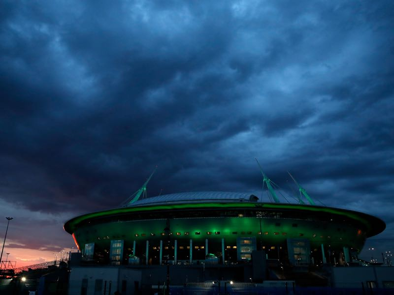 Sweden vs Switzerland will take place at the Saint Petersburg Stadium (Photo by Julian Finney/Getty Images)