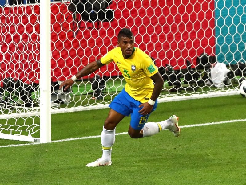 Paulinho will be asked to pitch in with more goals throughout the tournament (Photo by Dean Mouhtaropoulos/Getty Images)