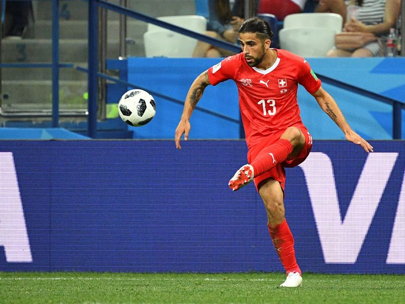Ricardo Rodriguez is looking to increase his market value in Switzerland's remaining games at the World Cup (Photo by Johannes EISELE / AFP)