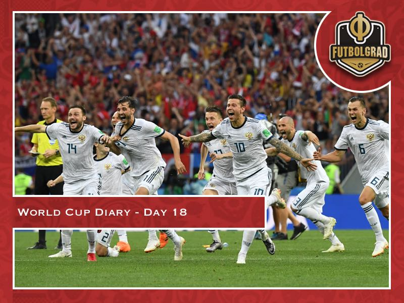 World Cup Diary – Day 18 – Russia's World Cup party is getting started