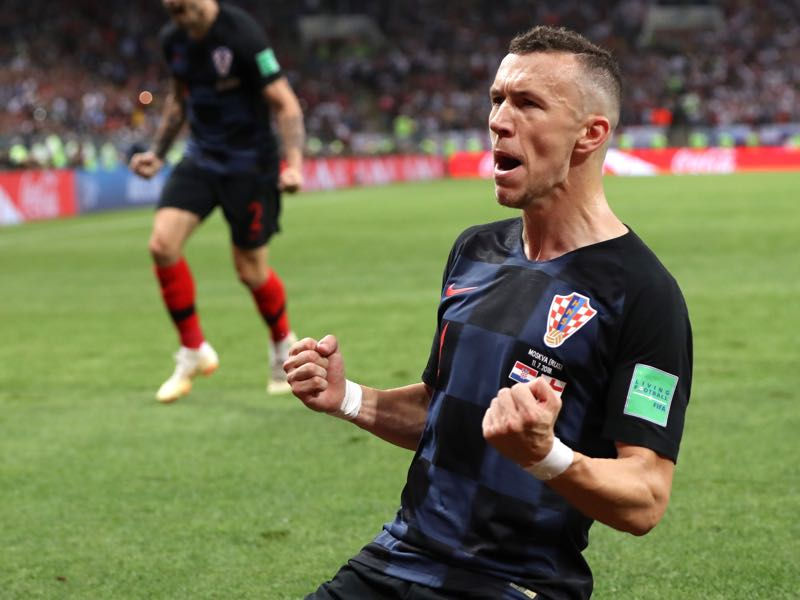 Croatia v England - Ivan Perišić was the man of the match (Photo by Ryan Pierse/Getty Images)