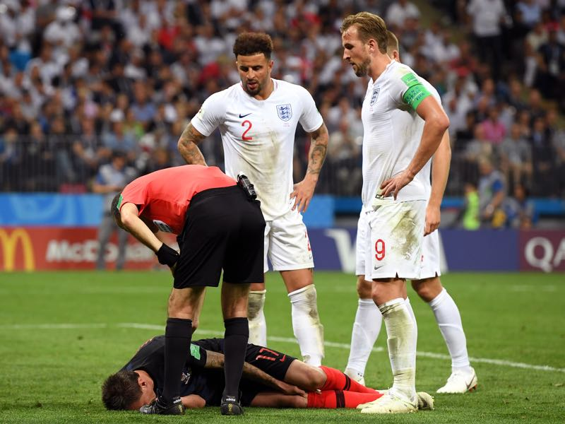 Mario Mandžukić is down but not out (Photo by Matthias Hangst/Getty Images)
