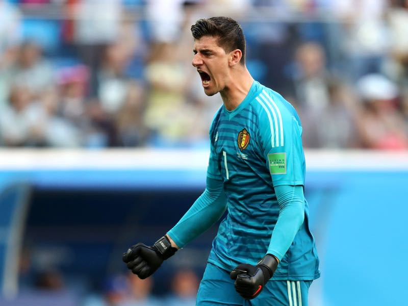 Thibaut Courtois was fantastic for Belgium throughout the tournament (Photo by Catherine Ivill/Getty Images)