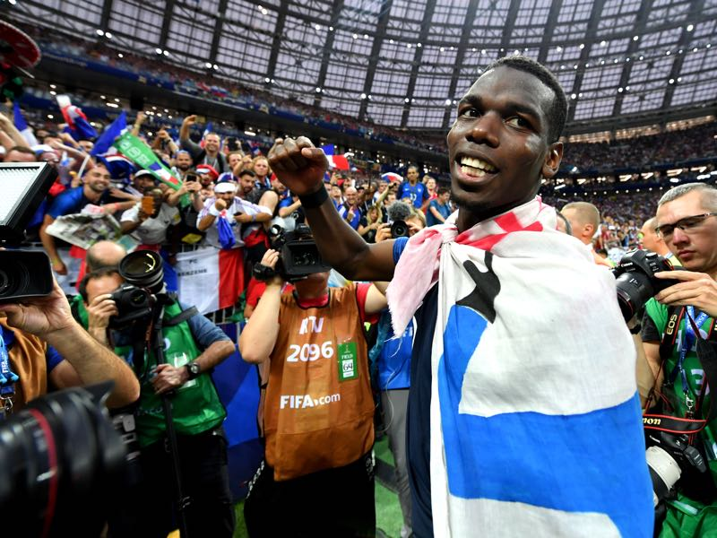 France v Croatia - Paul Pogba was the Futbolgrad Network man of the match (Photo by Dan Mullan/Getty Images)