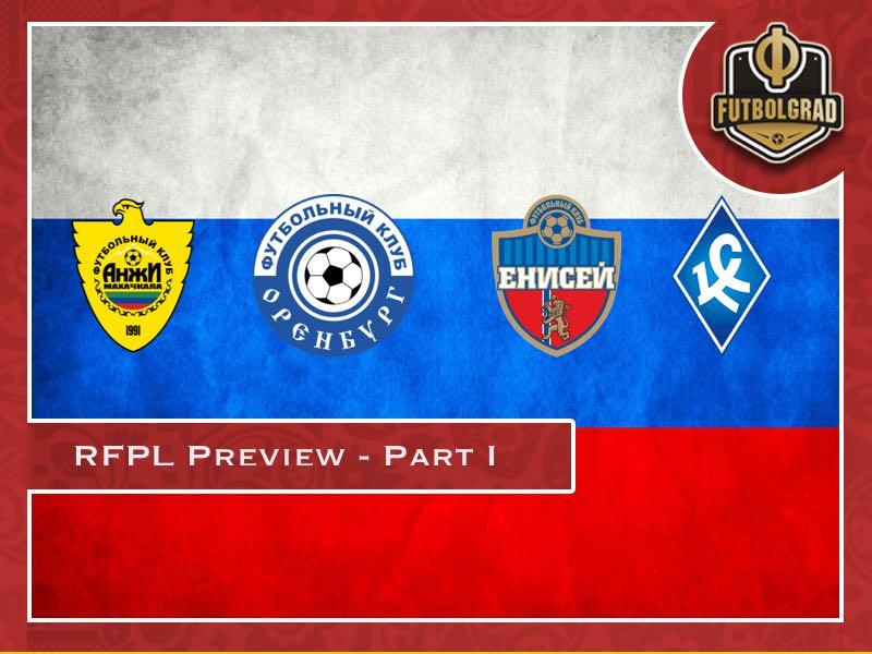 Russian Football Premier League 2018/19 Season Preview – Part I