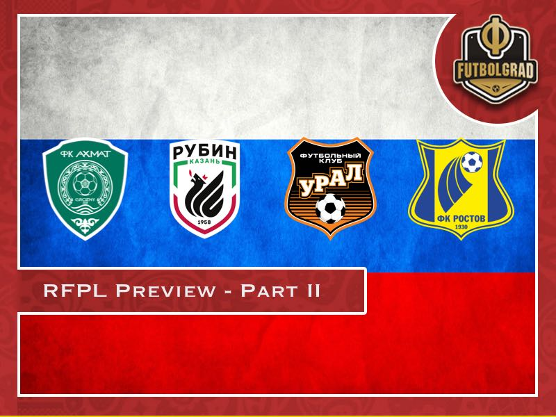 Russian Football Premier League 2018/19 Season Preview – Part II