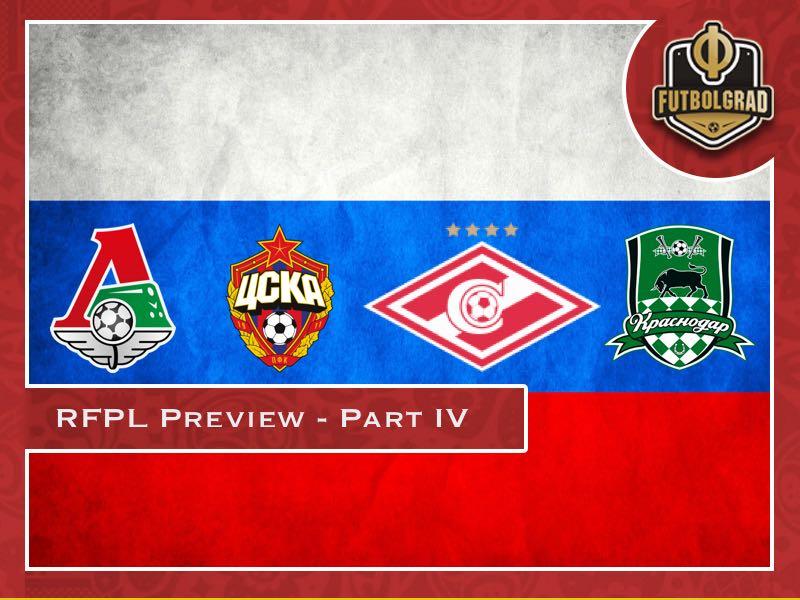 Russian Football Premier League 2018/19 Season Preview – Part IV