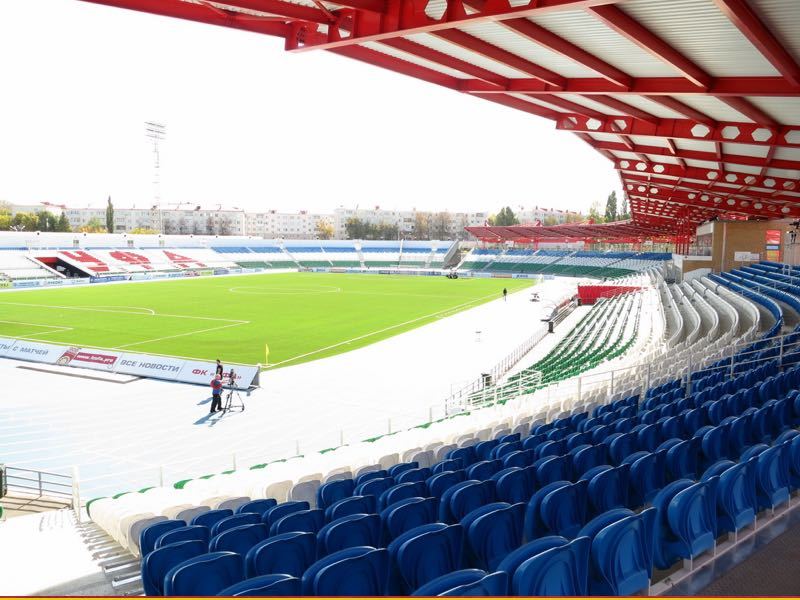 Ufa vs Rangers will take place at the Neftyanik Stadion in Ufa (By Фальшивомонетчик - Own work, CC BY-SA 4.0)