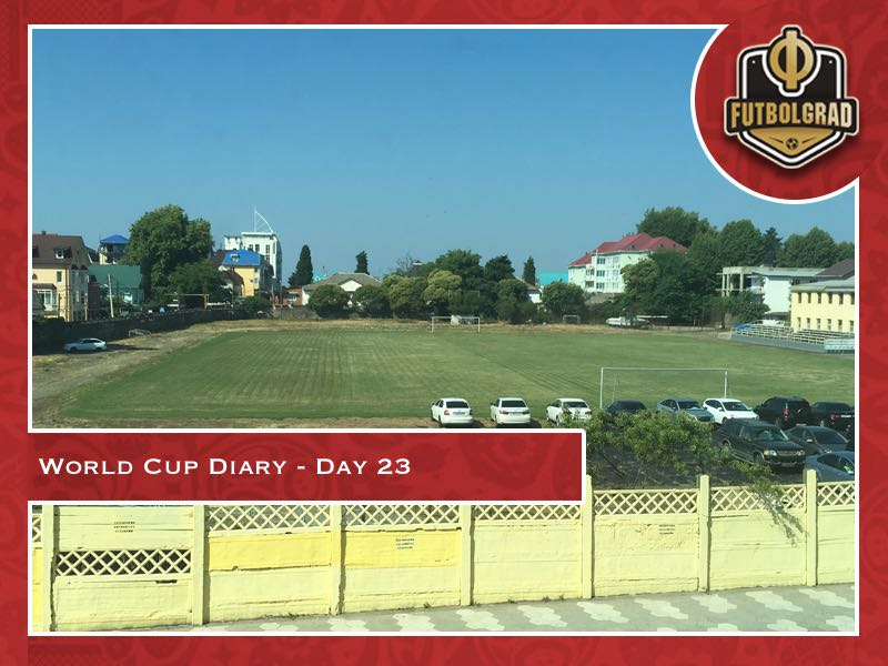 World Cup Diary – Day 23: 24 hours on a train