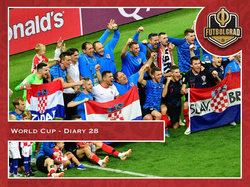 World Cup Diary – Day 28: Croatia are through to the final