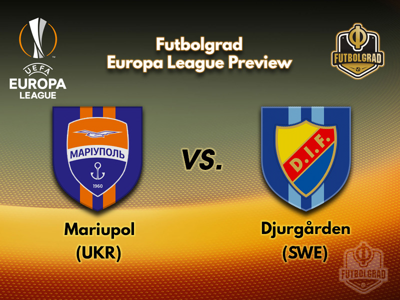 Mariupol and Djurgarden travel to Odessa to battle in the Europa League