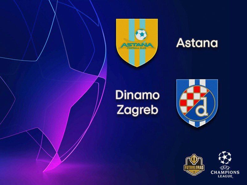 Dinamo Zagreb make the long trip to Kazakhstan to face Astana