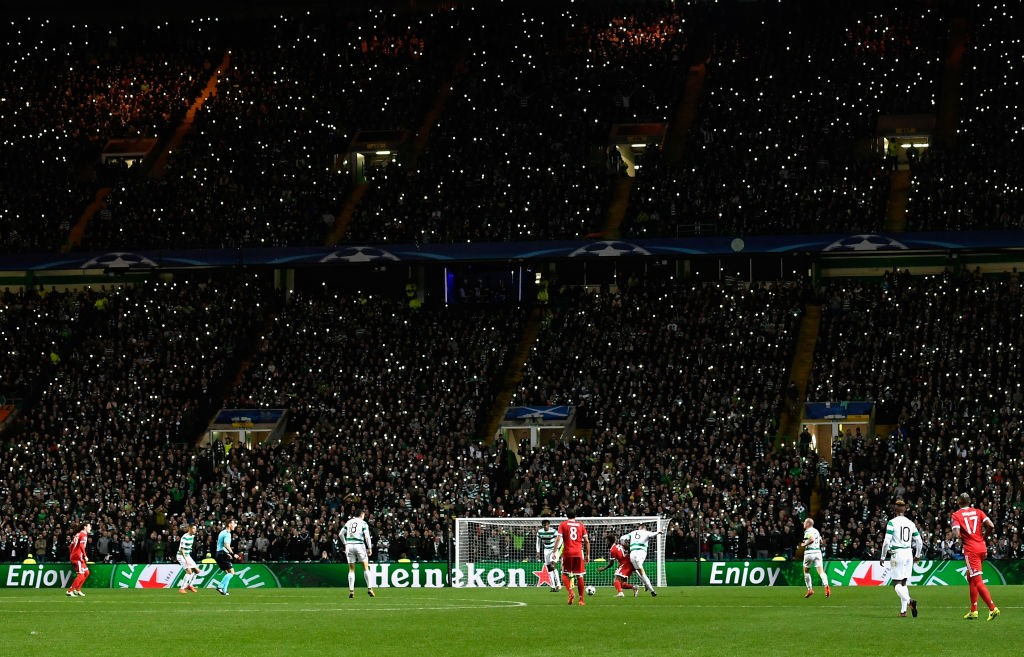 Celtic vs AEK Athens will take place at Celtic Park, Glasgow. (Photo by Stu Forster/Getty Images)