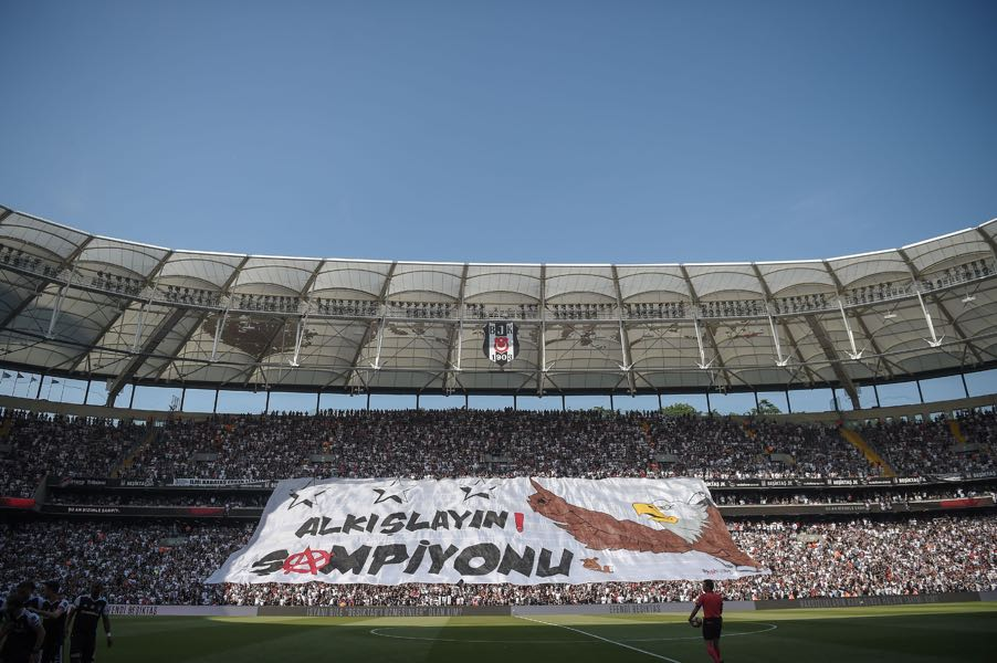 Besiktas vs Partizan will take place at the Besiktas Park in Istanbul. (OZAN KOSE/AFP/Getty Images)