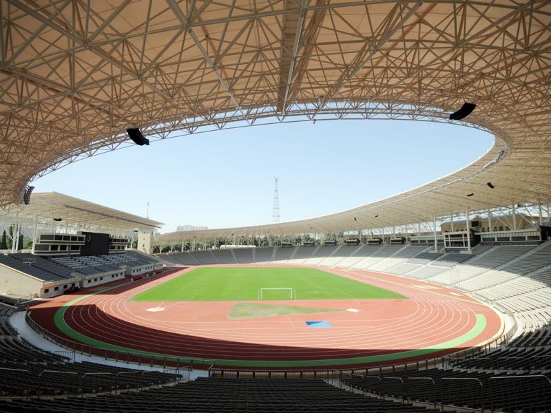 Qarabag vs BATE Borisov will take place at the Tofig Bahramov Republican stadium in Baku (TOFIK BABAYEV/AFP/Getty Images)