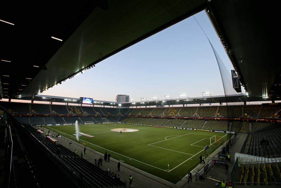 Young Boys vs Dinamo Zagreb will take place at the STADE DE SUISSE (Photo by Philipp Schmidli/Getty Images)