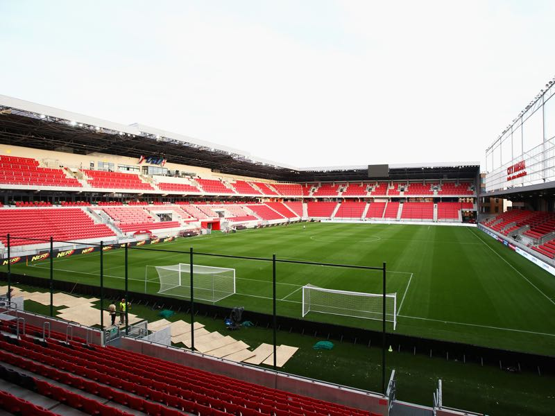 Spartak Trnava vs Red Star Belgrade will take place at the City Arena in Trnava (Photo by Christopher Lee/Getty Images)