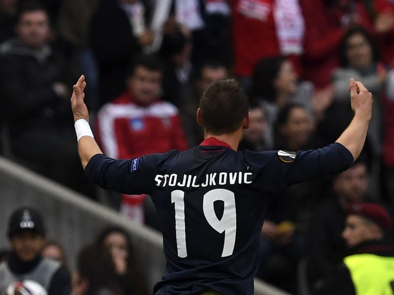 Nikola Stojiljković is one to watch on Tuesday (FRANCISCO LEONG/AFP/Getty Images)