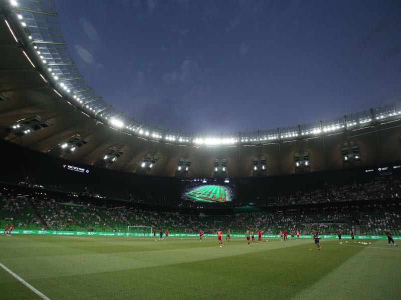 Krasnodar vs Akhisar will take place at the Krasnodar Stadium (Photo by Epsilon/Getty Images)