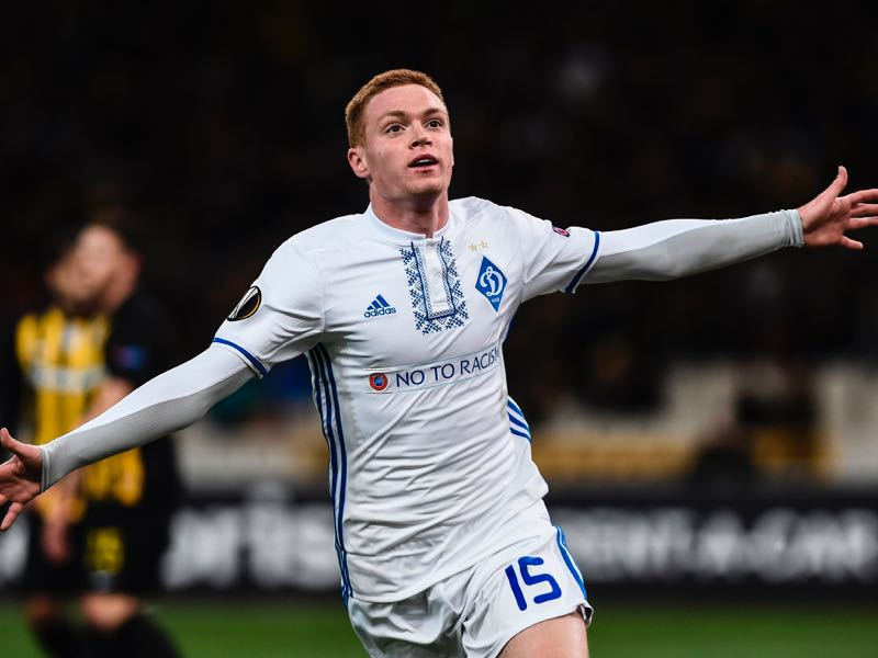 Viktor Tsygankov is Dynamo Kyiv's biggest talent (ANGELOS TZORTZINIS/AFP/Getty Images)