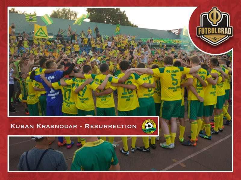 Kuban Krasnodar – Two complicated stories of resurrection