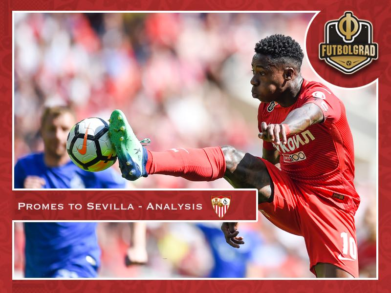 Quincy Promes – What does the transfer mean for Sevilla and Spartak?