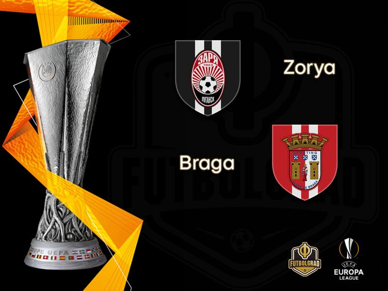 Braga seek to overcome their Ukrainian nightmares when they face Zorya Luhansk in Zaporizhia