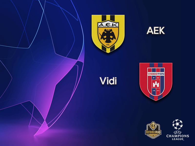 AEK look to complete Champions League return against Vidi FC on Tuesday