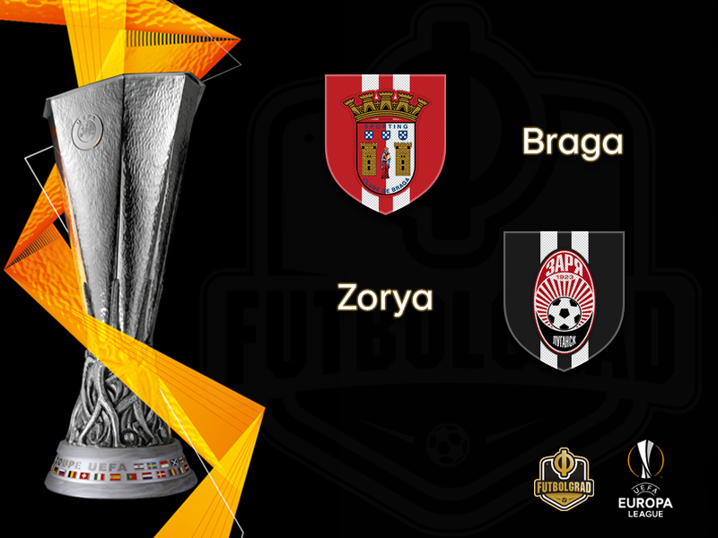 Zorya travel to Braga to show that they are no Europa League pushovers