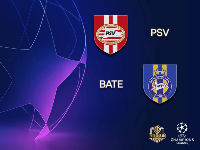 PSV look to complete Champions League qualification against BATE Borisov