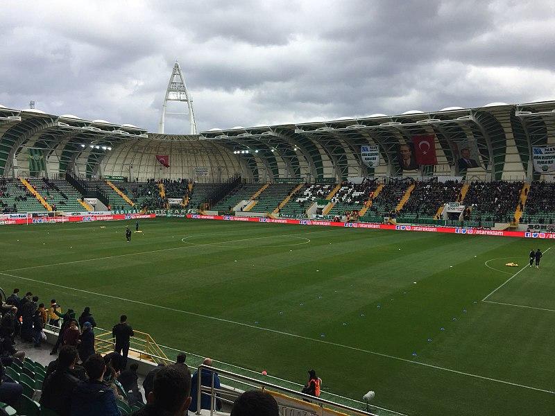 Akhisar vs Krasnodar will take place at the Akhisar Stadyumu in Manisa (Pragdon CC-BY-SA-4.0)